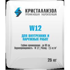 Кристаллизол W12 (25 кг. мешок)